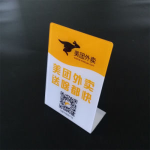 Display Card Professional Custom Service of Acrylic Material pictures & photos