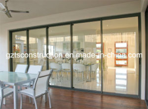 Factory Price Aluminium Heavy Duty Glass Sliding Door pictures & photos