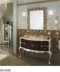 Classical Solid Wood Bathroom Vanity pictures & photos