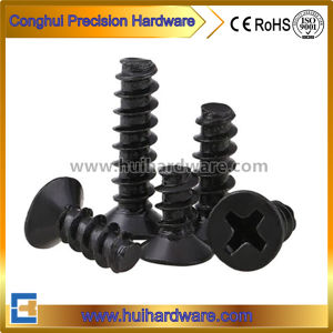 Flat Head Screws, Phillips Head Self Tapping Screws Manufacturer pictures & photos