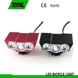 High Power 3*CREE T6 LED Rechargeable Bike Light (MT-8612)