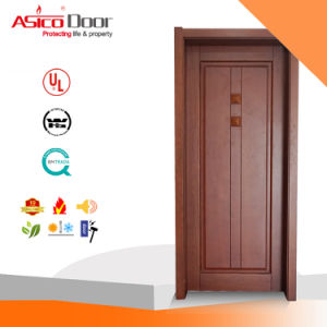 Exterior Entrance Solid Wooden/Timber Door (FSC Certificate) pictures & photos