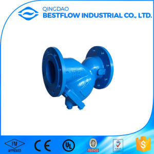 Dn40-Dn800 Cast Iron/Ductile Iron Flanged Y Strainer pictures & photos