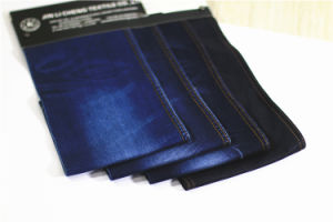 Nm31027 Cotton Spandex Denim Fabric for Jeans pictures & photos
