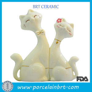 Wholesale Ceramic Decoration Cat Lovers Wedding Gift pictures & photos