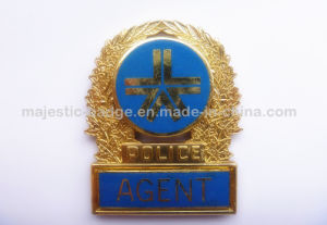 Gold Plating & Epola Police Badge pictures & photos