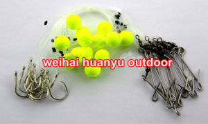 New 2017 Fishing Hook 25PCS/1 Bag Longline Traces Floats 50cm Fishhook #18 Lure Hook for Fishing pictures & photos