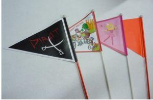 Festival Flag/Advertisement Flag/Decoration Flag/ Car Flag (bicycle flag 0001) pictures & photos