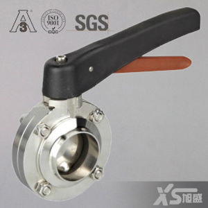 Stainless Steel Hygienic Sanitary Welding Butterfly Valve pictures & photos