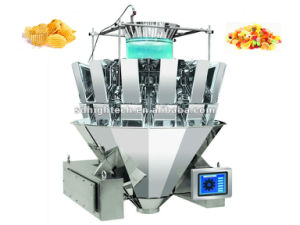 14 Head Weigher with 1.3L Hopper for Shredded Cheese pictures & photos
