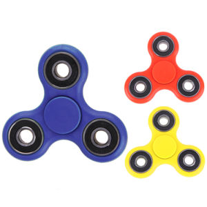 Finger Spinner with 7 Colors Triangle Gyro Fidget Plastic EDC Hand for Autism to Relief Anxiety Stress pictures & photos