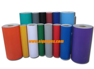 Color Cut Self Adhesive Vinyl (SAV08120, SAV10140) pictures & photos