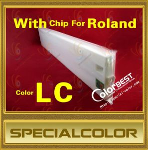 Eco Solvent Roland Ink Cartridge of Printer with Color LC pictures & photos