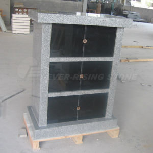6 Niches Black Granite Columbarium