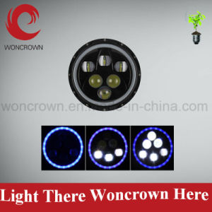 Woncrown High Power 60W LED Head Light, Black 6000k, 4000lm Dual Hot Design pictures & photos
