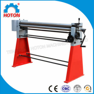 Manual Rolling Machine (Sheet Plate Slip Roller W01-2X1000) pictures & photos