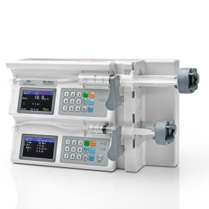 Dua Channel Syringe Pump for Hospital pictures & photos