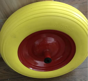 High Quality PU Foam Wheel with Reach and PAHs Free Certificate (400-8) pictures & photos