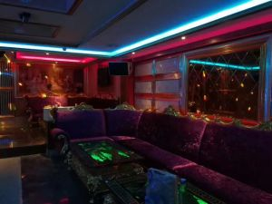 High Quality Karaoke Club Sofa and Table pictures & photos