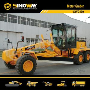 130HP Motor Grader Swg130 with Cummins Engine pictures & photos