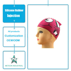 Customized Silicone Products Silicone Swimming Wear Cap Injection Tool pictures & photos