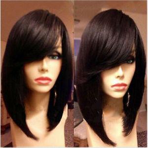 Fashion Virgin Brazilian Human Hair Bob Glueless Full Lace Wig pictures & photos