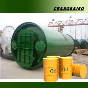 Waste Tire to Oil Machine with High Oil Rate