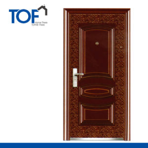 Exterior Decorated High Quality Steel Security Door