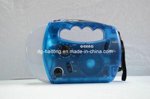 Solar Flashlight Radio Ht-868 pictures & photos