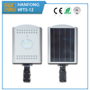 High quality Waterproof Integrated LED Solar Street Light (HFT5-12) pictures & photos