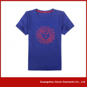 OEM Factory Silk Screen Printing T Shirts for Promotion with Your Own Logo (R72) pictures & photos
