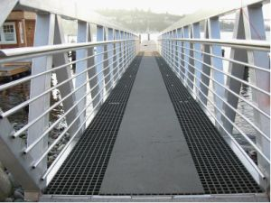 Fiberglass Reinforced Plastic Molded GRP/FRP Grating for Walkway pictures & photos