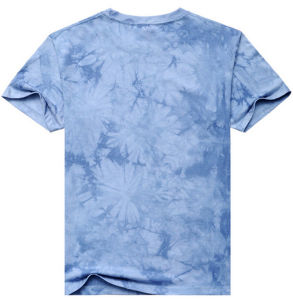OEM Logo Colorful Polyester Sublimation Printing T Shirt pictures & photos