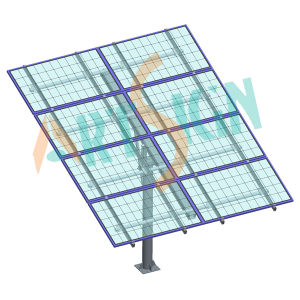 Solar Panel Pole Mounting System in Solar Ground Mount pictures & photos