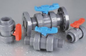 Male&Female Good Quality Plastic Single PVC Union Ball Valve for Agriculture pictures & photos