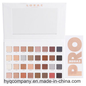 New Arrival Lorac Los Angeles PRO Mega3 Eye Shadow Palette 32 Colors Eyeshadow Palette pictures & photos