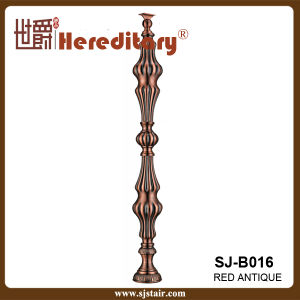 New Design Red Antique Casting Aluminum Balustrade for Terrace (SJ-B016) pictures & photos