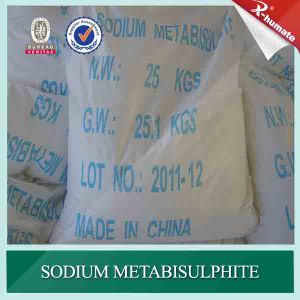 Best Quality 97% Food Grade Sodium Metabisulphite pictures & photos