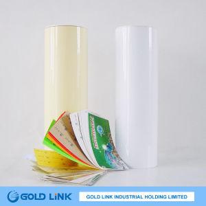 Adhesive PE Film in Bright White Skin pictures & photos