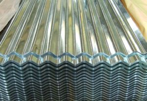 Galvanized Corrugated Sheet Steel Stainless Building Material pictures & photos