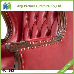 High Back Fabric Material Luxury Woodern Sofa (June) pictures & photos