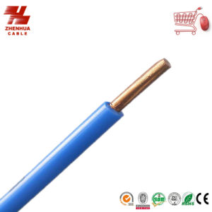BV Wire Copper Conductor PVC Insulation Electric Wire 1*10mm2 450/750V pictures & photos