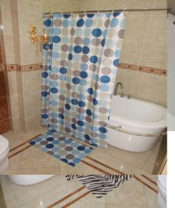 bath curtain,shower curtain sets(anti-slip bath mat sets) pictures & photos