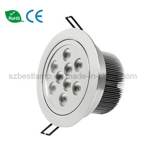 9x3w LED Ceiling Light with CE RoHS Approval pictures & photos