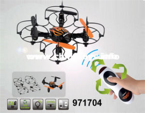 2.4G 4-Axis R/C Aircraft/6-Axis Gyro with Light& Camera Toy (971704) pictures & photos