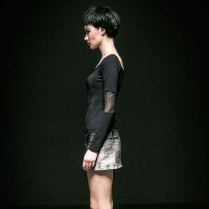 Punk Rave Wholesale Gothic Jean Skirt (Q-240) pictures & photos