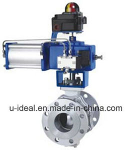 Light Industry Pneumatic O Type Ball Control Valves pictures & photos