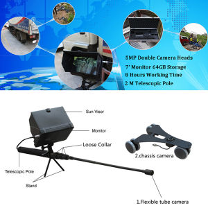 Handheld Telescopic Pole 1080P Full HD Uvis Under Vehicle Inspection System pictures & photos