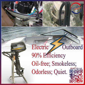 10HP DC Power Gasboat Motorboat Electric Outboard Kits pictures & photos