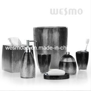 Black Polyresin Bathroom Sets (WBP0346A) pictures & photos